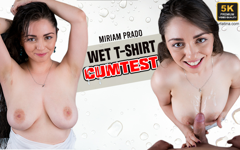 Wet T-Shirt Cumtest