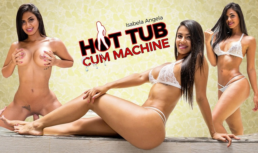 Hot Tub Cum Machine